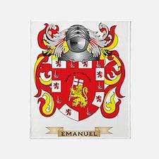 Emanuel Coat of Arms Throw Blanket