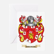 Emanuel Coat of Arms Greeting Card
