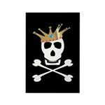 Pirate Royalty Rectangle Magnet (10 pack)