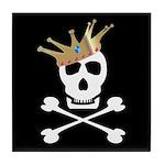Pirate Royalty Tile Coaster