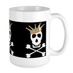 Pirate Royalty Large Mug