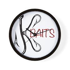 K-Baits Logo Wall Clock