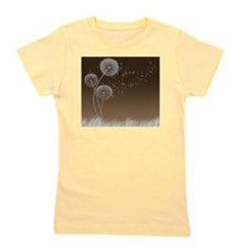 Dandelion Wishes Girl's Tee