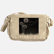 Dandelion Wishes Messenger Bag