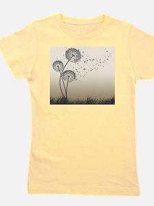 Dandelion Wishes Girl's Tee