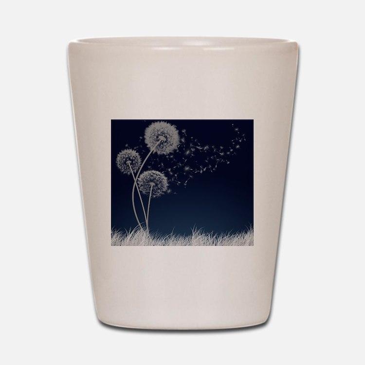 Dandelion Wishes Shot Glass