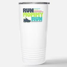 Run Mommy Run - Shoe Stainless Steel Travel Mug