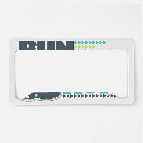 Run Mommy Run - Shoe License Plate Holder