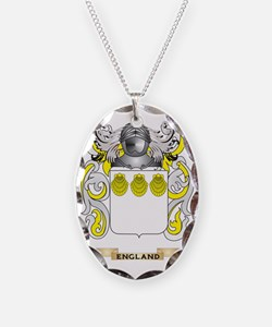 England Coat of Arms Necklace