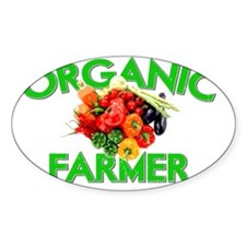 ORGANIC FARMER GREEN Decal