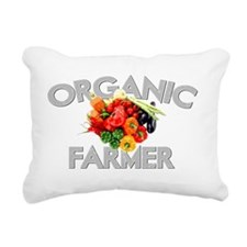 ORGANIC FARMER DARKpng Rectangular Canvas Pillow