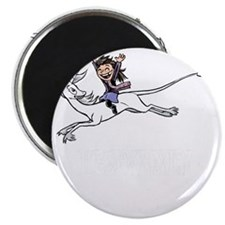 Leaping unicorn Magnet