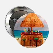 "Beach Tiki Bar 2.25"" Button"