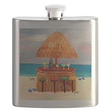 Beach Tiki Bar Flask