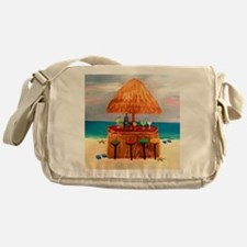 Beach Tiki Bar Messenger Bag