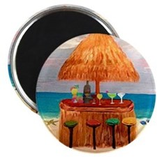 Beach Tiki Bar Magnet