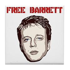 Free Barrett Brown Tile Coaster