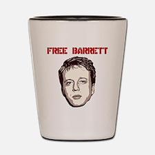 Free Barrett Brown Shot Glass