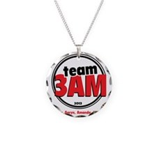 Team 3AM Big Brother Necklace Circle Charm