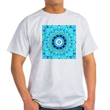 Blue Ice Lace-Blue Ice Glass-9900x99 T-Shirt