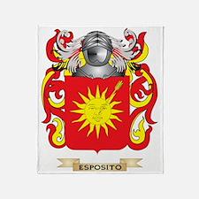 Esposito Coat of Arms Throw Blanket
