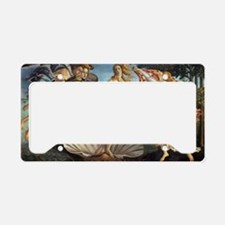 Birth of Venus by Botticelli License Plate Holder