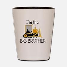 Im the Big Brother Bulldozer Shot Glass