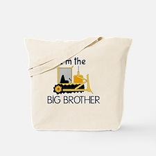 Im the Big Brother Bulldozer Tote Bag