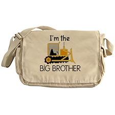 Im the Big Brother Bulldozer Messenger Bag