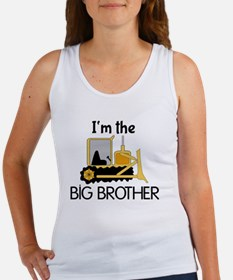 Im the Big Brother Bulldozer Women's Tank Top