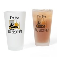 Im the Big Brother Bulldozer Drinking Glass