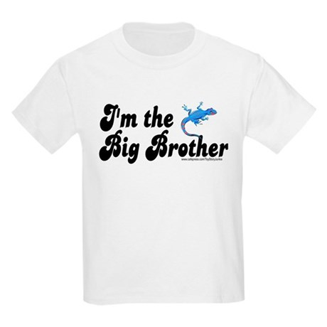 I'm the big brother (lizard/g Kids Light T-Shirt