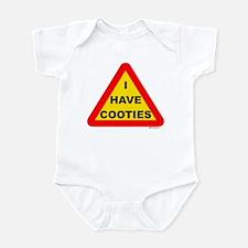 I Have Cooties Infant Bodysuit