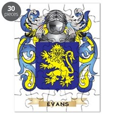 Evans Coat of Arms Puzzle