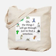 The Things We Go Through Tote Bag