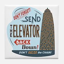 elevator-back-T Tile Coaster