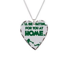 green Waiting Necklace