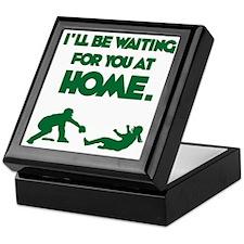 green Waiting Keepsake Box