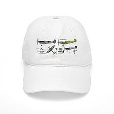 Supermarine Spitfire Mark IX Cutaway Baseball Cap