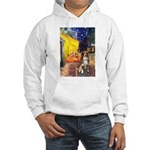 Cafe-AussieShep #4 Hooded Sweatshirt