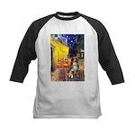 Cafe-AussieShep #4 Kids Baseball Jersey