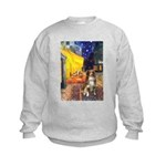 Cafe-AussieShep #4 Kids Sweatshirt