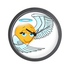 Cute smily an angel Wall Clock