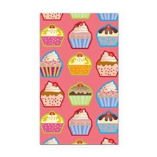 Cute Cupcakes Rectangle Car Magnet
