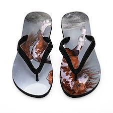 Native Horse Flip Flops