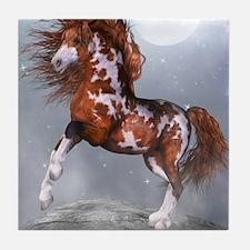 Native Horse Tile Coaster