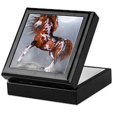 Native Horse Keepsake Box