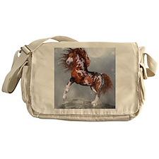 Native Horse Messenger Bag
