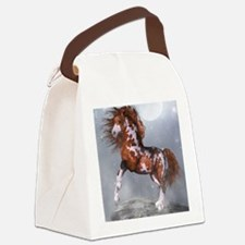Native Horse Canvas Lunch Bag