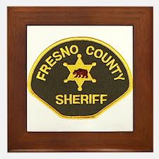 Fresno County Sheriff Framed Tile